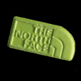 The North Face vert clair